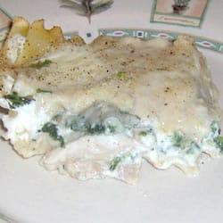 White Cheese Chicken Lasagna 1