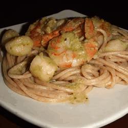 Creamy Pesto Shrimp 3