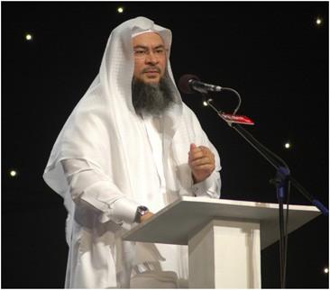 Shaikh Assim Alhakeem scheduled a visit to Huda TV's studios