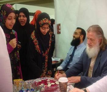 Huda TV participated at Dubai - International Peace Convention 4