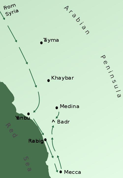 The Battle of Badr 1