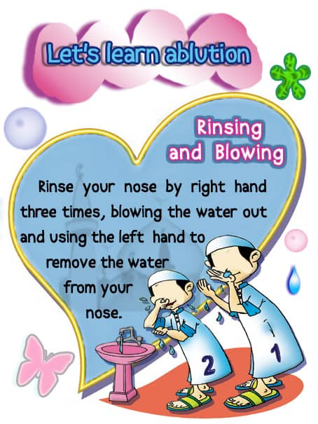 Let's learn ablution 2