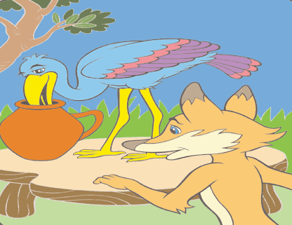 The fox and the stork 17