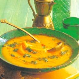 Blended vegetable soup 1