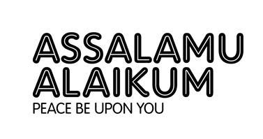 Assalamu Alaikum - The Islamic Greeting 1