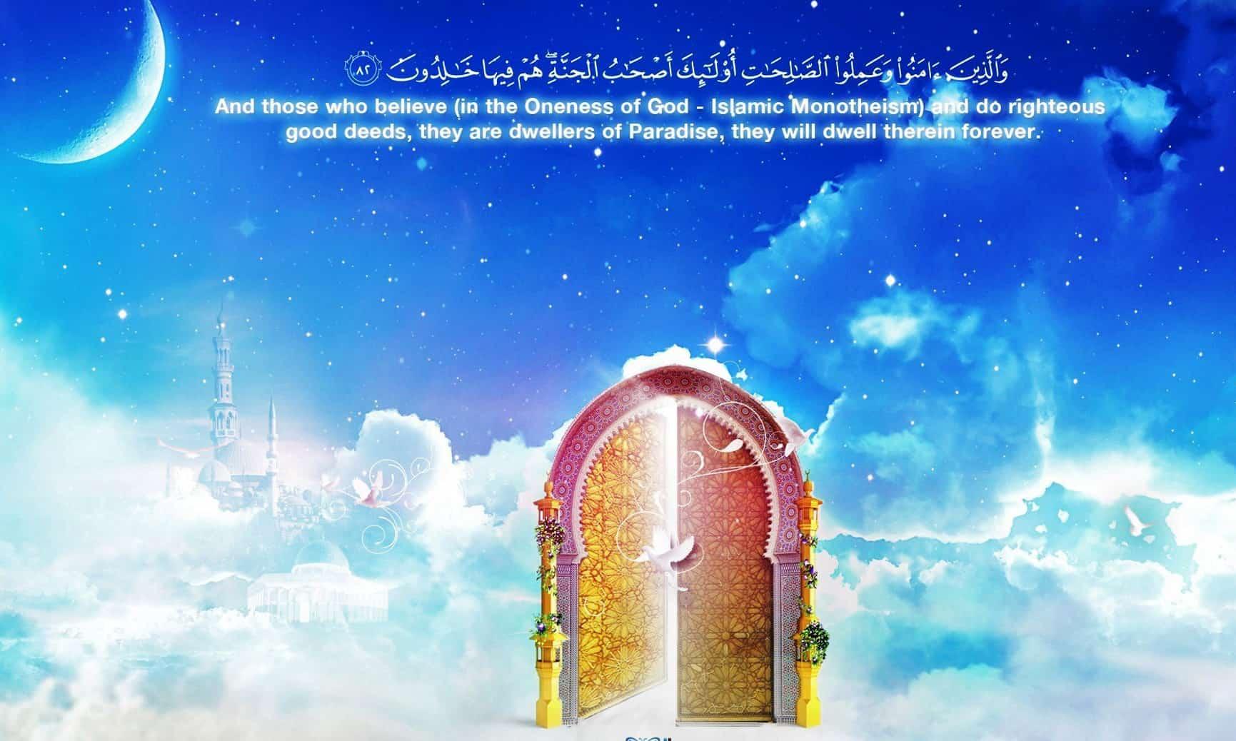 Description of Paradise in Islam 1