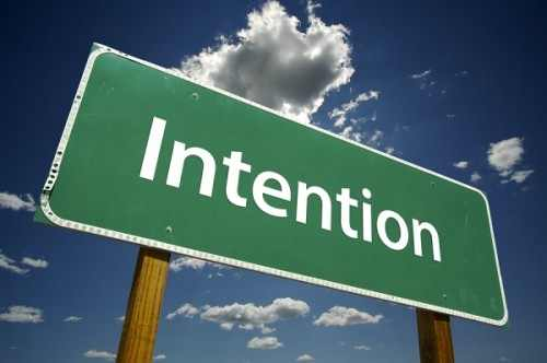 Importance of Intention 1