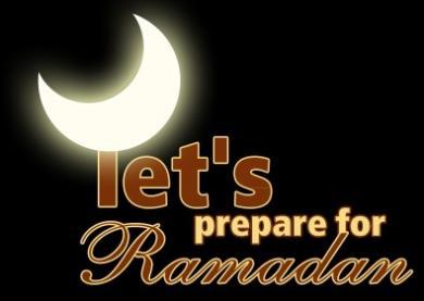 Preparing for Ramadan 2