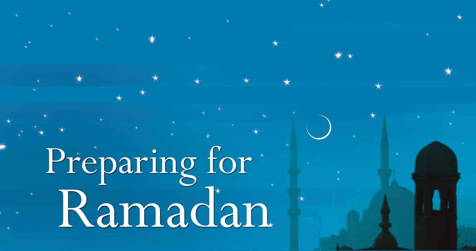 Preparing for Ramadan 1