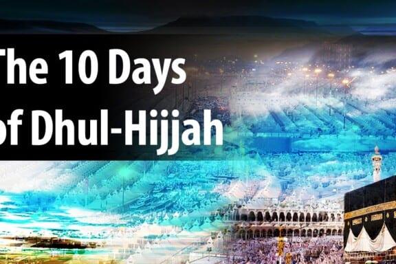 School of Faith in Ten Days of Thul-Hijjah 5