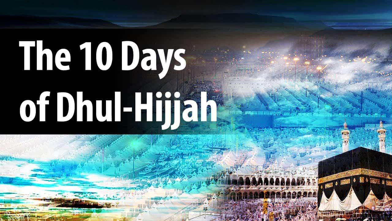 School of Faith in Ten Days of Thul-Hijjah 1