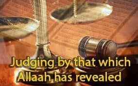 Judging by that which Allaah has revealed 11