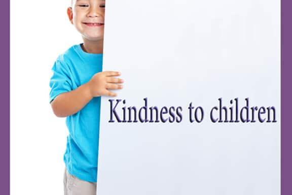 Kindness to children 6